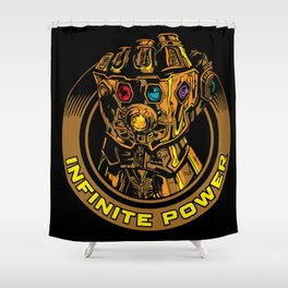 Infinity Gauntlet Shower Curtain