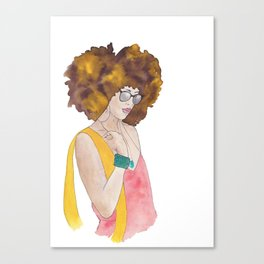 Sunshine Queen Canvas Print