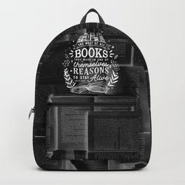 Reasons to stay alive Backpack