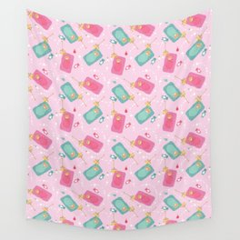 The baby blanket Wall Tapestry