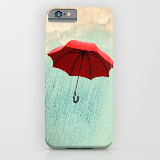 red rain iPhone & iPod Case