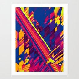 Nuance Crossed Art Print