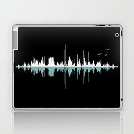 Music City ( Black version ) Laptop & iPad Skin