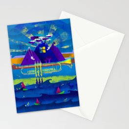 Kind of Blue Stationery Cards