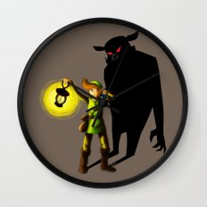 The Hero's Lantern Wall Clock