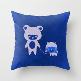 DORI & CHAO   Throw Pillow