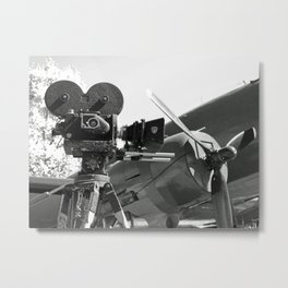 Mitchell movie camera DC-3 Metal Print