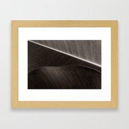 'Layered Leaves' Framed Art Print