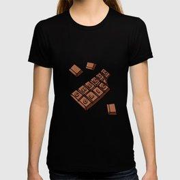 Chocoholic Illustration T-shirt