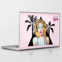 barbie Laptop & iPad Skins featuring Golden Barbie by Kendal Blake