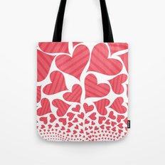 Bursting Hearts Tote Bag
