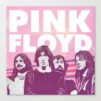 floyd Canvas Prints featuring Pink Floyd by jnk2007
