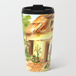 European Countryside Metal Travel Mug