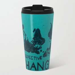 world map - perspective change Travel Mug