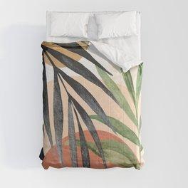 Abstract Tropical Art VI Comforters