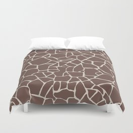 Brown Elephant Duvet Cover