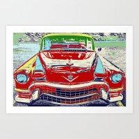 Cadillac Front Art Print