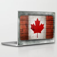 canada Laptop & iPad Skins featuring Canada by Arken25