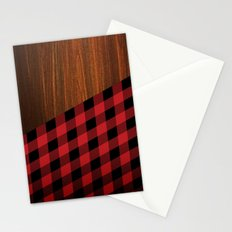 Wooden Lumberjack Stationery Cards