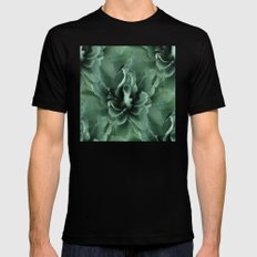 Agave Repeat Play MEDIUM Mens Fitted Tee Black