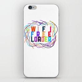 WIFI FREELOADER iPhone Skin