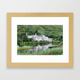 Kylemore Abbey in Ireland Framed Art Print