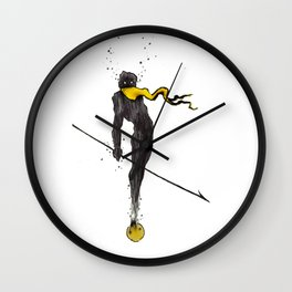 The Lancer Wall Clock