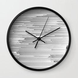 Japanese Glitch Art No.4 Wall Clock