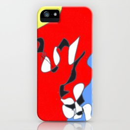 Sliding in to Third: Tim Koss          by Kay Lipton iPhone Case