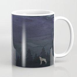 I am a Wolf & You are the Moon Coffee Mug