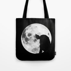 The Bat in the Pale Moonlight Tote Bag