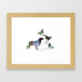 Spaniel Artwork Framed Art Print