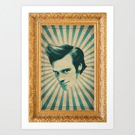 Carrey Art Print