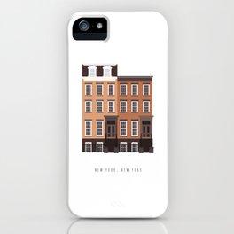 New York, NY Brownstone iPhone Case