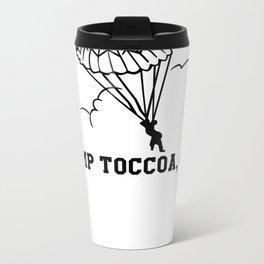 Camp Toccoa PT Shirt Metal Travel Mug