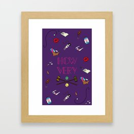 Heathers (Holy Trinity Print #1) Framed Art Print