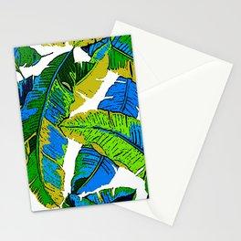 BANANA PALM LEAF PARADISE Stationery Cards