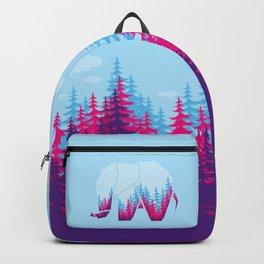 Forest elephant Backpack