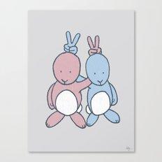 Bunny Ears Canvas Print