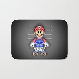It's ME, Evil Mario !  Bath Mat