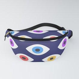 Lucky Eyes Vintage Pattern Fanny Pack