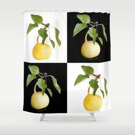 Wild pears Shower Curtain