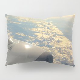 Sun And Clouds From Plane Pillow Sham