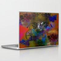steam punk Laptop & iPad Skins featuring Steam Punk by Robin Curtiss
