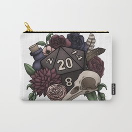 Necromancer D20 Tabletop RPG Gaming Dice Carry-All Pouch