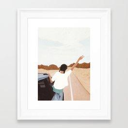 Spring Break Trip Framed Art Print