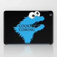 Cookies are coming iPad Case