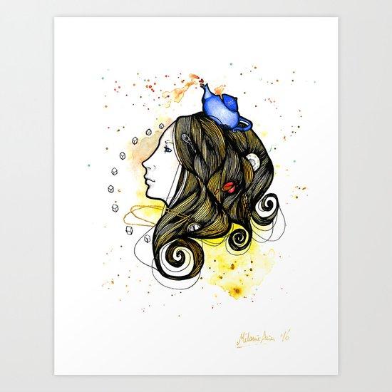 Tea Dream Art Print