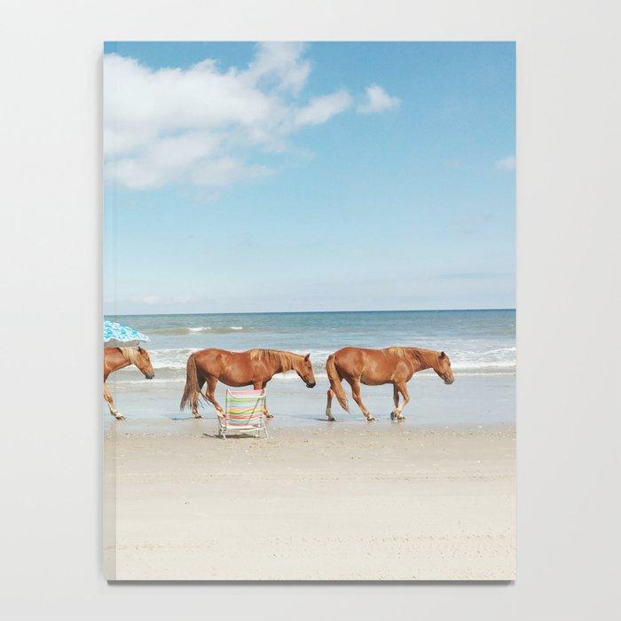 Summer Coast Horse Stride Notebook