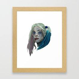 Margot Robbie - Harley Quinn Framed Art Print